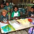 Classroom scene in Vanuatu (photo: Cristine Legare)