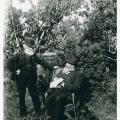 Figure 1. Howitt and Fison in Howitt's garden in Gippsland, 1887. Copyright Centre for GippslandStudies pictures collection, Monash University Research