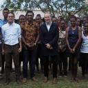 jonathan jong and harvey with their research assistants vanuatu sep