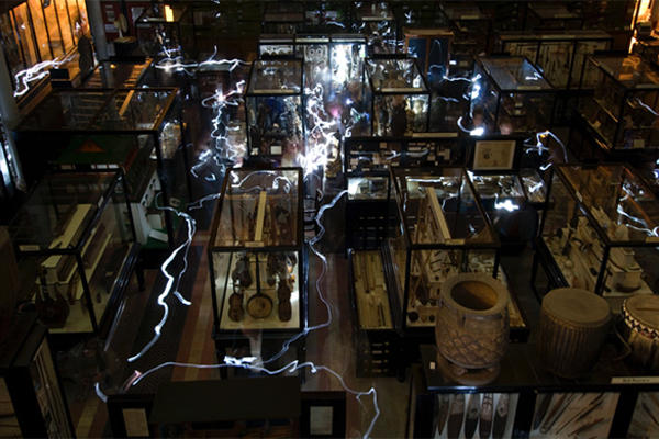 photo of the Pitt Rivers Museum by Rob Judges