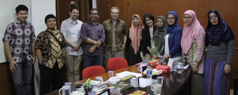 harvey whitehouse chris kavanagh and their team of collaborators in jakarta