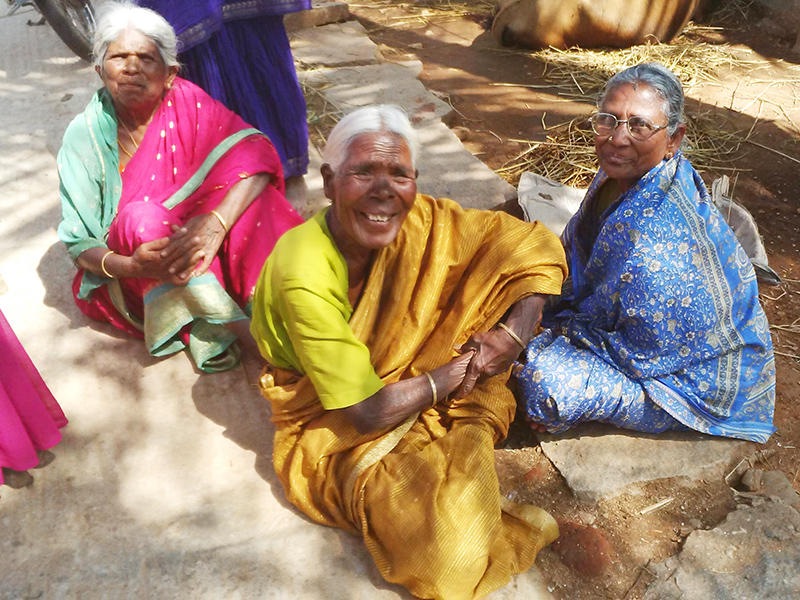 villagers in rampura india by professor david gellner
