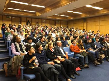 astor lecture audience