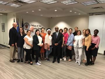 inclusive cities us exchange with uk city leaders