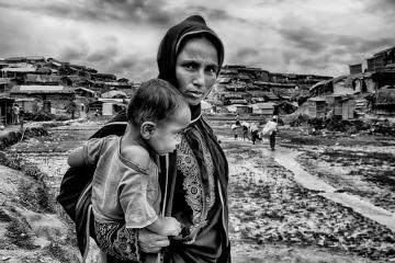 rohingya refugee mother by mohammad rakibul hasan