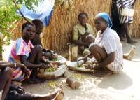 karmi transit site ethiopia preparing wild foods sept 1992