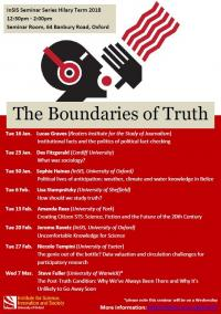 the boundaries of truth